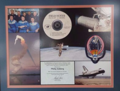 Philip Aaberg - Space Shuttle - Field Notes CD