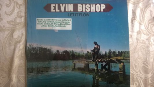 Elvin Bishop - Let it Flow cover